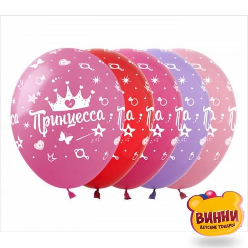 """Шарики воздушные 12"""" """"Принцесса"""", 10 шт, DD-4-10"""