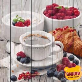 Картина по номерам на дереве Ароматный завтрак 40*50 см, GXT5509