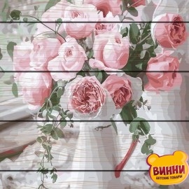 Картина по номерам на дереве Нежность роз 40*50 см, GXT29390