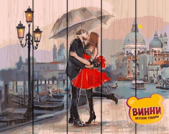 Картина по номерам на дереве Свидание в Венеции 40*50 см, GXT9991