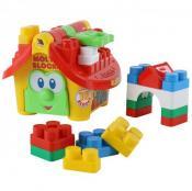 """Логічний будиночок """"Маленький будівник"""" (у сіточці)265х255х198 /4/"""