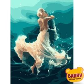 Картина по номерам На волне танца, 40*50 см KHO4566