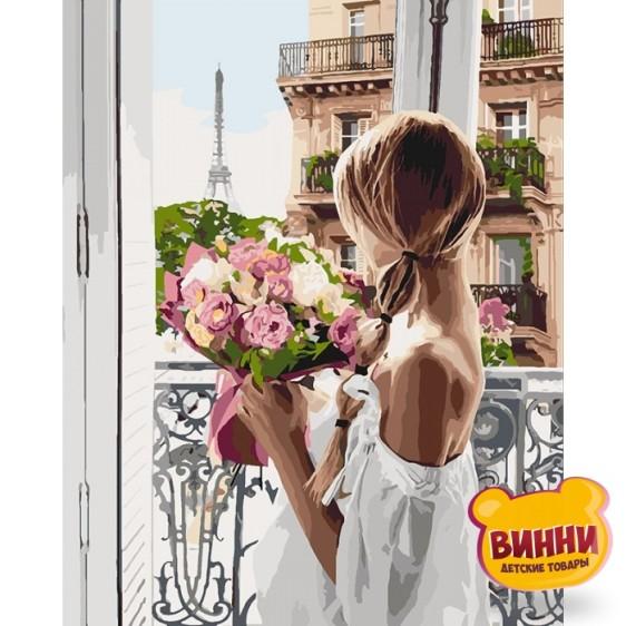 Картина по номерам Из Парижа с любовью, 40*50 см KHO4567