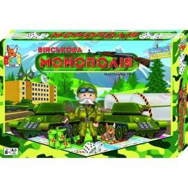 """Наст. игра """"Монополия Военная"""" Бамсик /10/"""