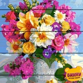 Картина по номерам на дереве Роскошный букет 40*50 см, GXT5546
