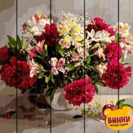 Картина по номерам на дереве Цветочное великолепие 40*50 см, GXT9794