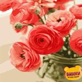 Картина по номерам 40*50 см AS0678 Цветы для любимой
