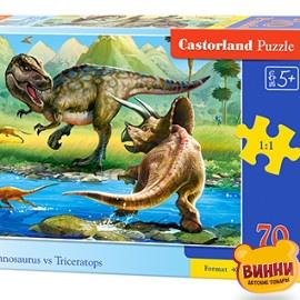 "Кастор пазлы 070 ""Динозавры"" 40*29 см, B-070084"