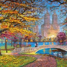"""Кастор пазлы 1500 """"Центральный парк. Нью-Йорк """"68*47"""