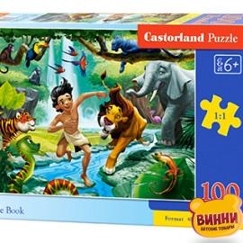 "Кастор пазлы 100 ""Книга джунглей"" 40*29 см, B-111022"