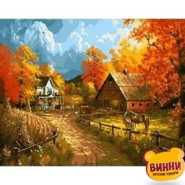 Картина по номерам Сельский пейзаж, 40*50 см Q1399