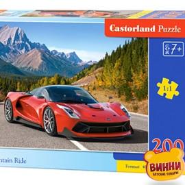 """Кастор пазлы 200 """"Автомобиль в горах"""" 40*29 см, B-222049"""