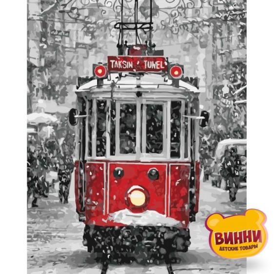 Картина по номерам Магический трамвайчик, 40*50 см KHО3531
