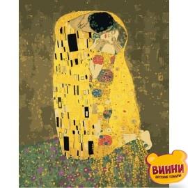 Аура поцелуя 2 - Густав Климт, 40*50 см KHO4534