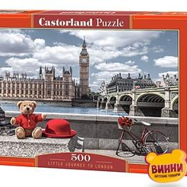 """Кастор пазлы 500 """"Маленькое путешествие в Лондон"""" 47*33 см, B-53315"""