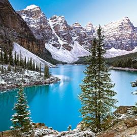 """Кастор пазлы 1000 """"Озеро, Канада""""68*47"""