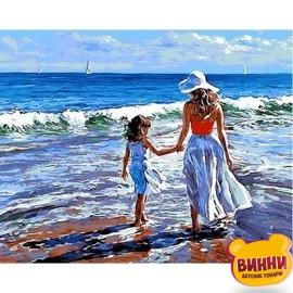 Картина по номерам Прогулка с мамой, 40*50 см Mariposa Q723