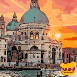 Картина по номерам 40*50 см AS0692 Сказочная Венеция