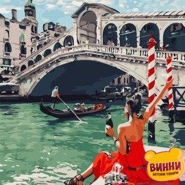 Картина по номерам 40*50 см AS0698 Праздник в Венеции