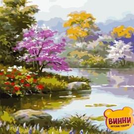 Картина по номерам 40*50 см AS0713 Цветущий сад