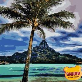 Картина по номерам 40*50 см AS0716 На Гавайях