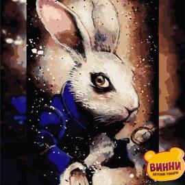 Картина по номерам 40*50 см AS0742 Загадочный кролик
