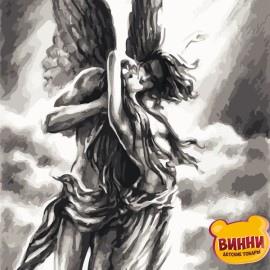Картина по номерам 40*50 см AS0749 Любовь ангела