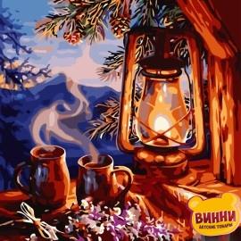 Картина по номерам 40*50 см AS0768 Душевный вечер