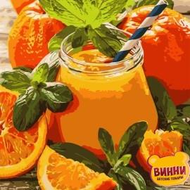Картина по номерам 40*50 см AS0769 Апельсиновый джем