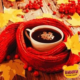 Картина по номерам 40*50 см AS0774 Уютная осень