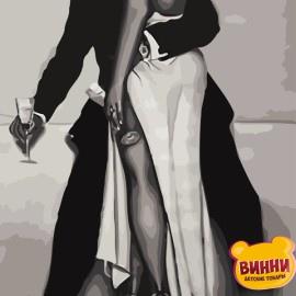 Картина по номерам 50*65 см AS0813 Любовное свидание