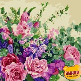 Картина по номерам 50*65 см AS0815 Чудесные цветы