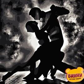 Картина по номерам 50*65 см AS0830 Страстный танец