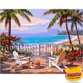Купить картину по номерам Babylon Пляж Анатолии, 40*50 см VP009