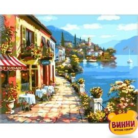 Купить картину по номерам Babylon Уютное кафе, 40*50 см VP017
