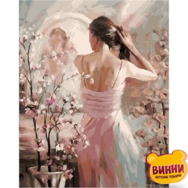 Купить картину по номерам Mariposa Перед зеркалом, 40*50 см Q1444