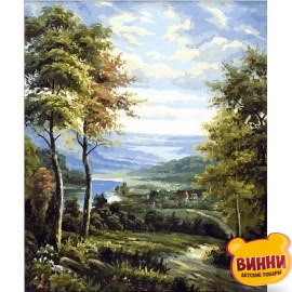 Купить картину по номерам Mariposa Окраина, 40*50 см Q1449