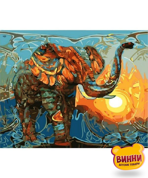 Купить картину по номерам Mariposa Индийские мотивы, 40*50 см Q1876