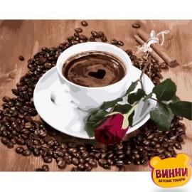 Купить картину по номерам Mariposa Приглашение на кофе, 40*50 см Q2096