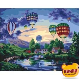 Купить картину по номерам Mariposa Воздушные шары, 40*50 см Q2099