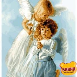 Купить картину по номерам Babylon Ангельские дети, 40*50 см VP434