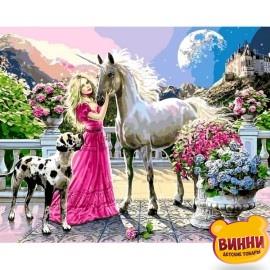 Купить картину по номерам Babylon Девичьи мечты, 40*50 см VP436