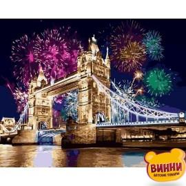 Купить картину по номерам Babylon Салют над Лондоном, 40*50 см VP479