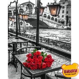 Купить картину по номерам Babylon У моста Риальто в Венеции, фотохудожник Ассаф Франк, 40*50 см VP694