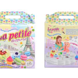 """Набор для креативного творчества """"La petite desserts"""" в кор. 41,5*32,5*7,5 см /4/"""