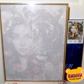 Купить картину по номерам Babylon Premium Хищница (в раме), 40*50 см, NB966