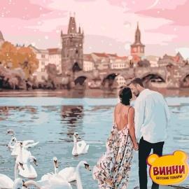 Купить картину по номерам Идейка Прогулка по Праге, 40*50 см KHO4652