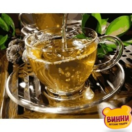 Зеленый чай, 40*50 см VP1133