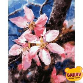 Купить картину по номерам Babylon Цветение яблони, 40*50 см VP1168
