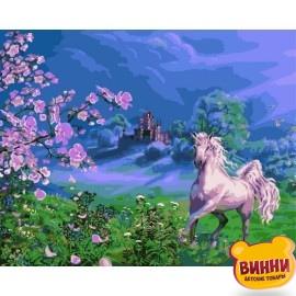 Купить картину по номерам Babylon Розовая лошадь, 40*50 см VP170